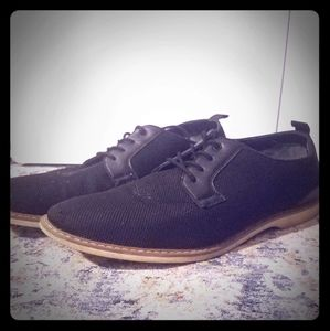 New & Classy Goodfellow Black Woven Oxford w laces